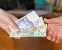 Nya svenska kronor som sedlar